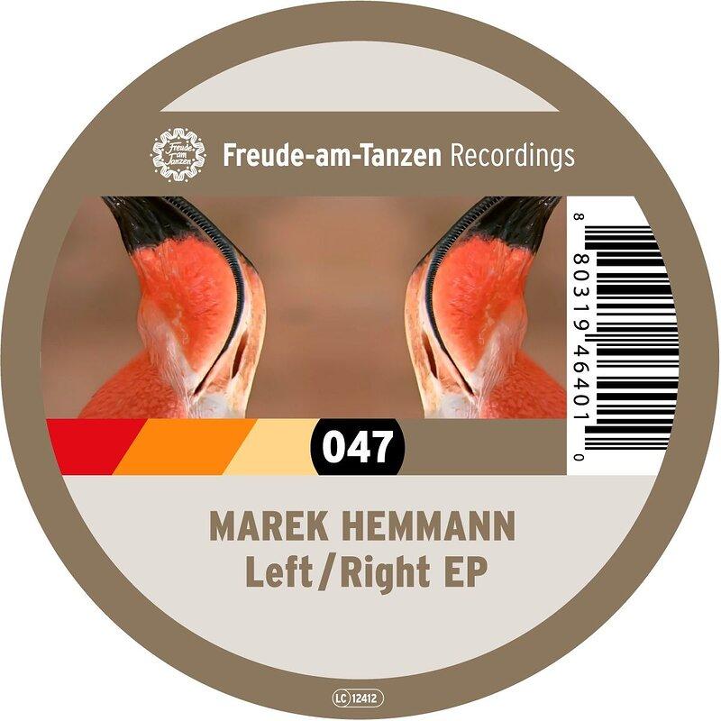 Cover art - Marek Hemmann: Left / Right EP