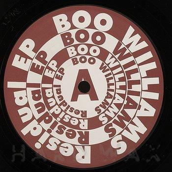 Cover art - Boo Williams: Residual EP