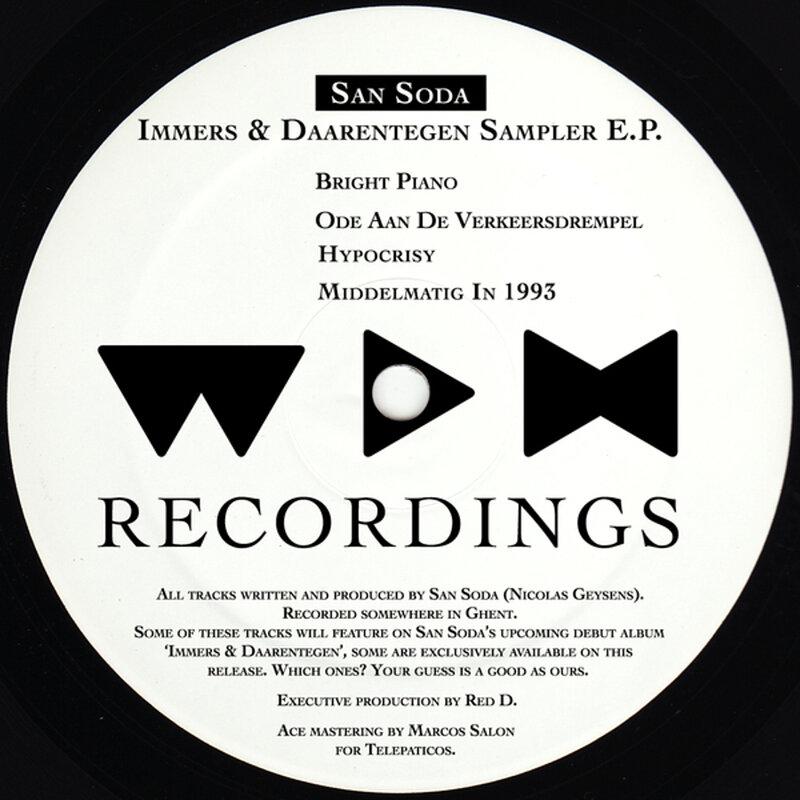 Cover art - San Soda: Immers & Daarentegen Sampler EP