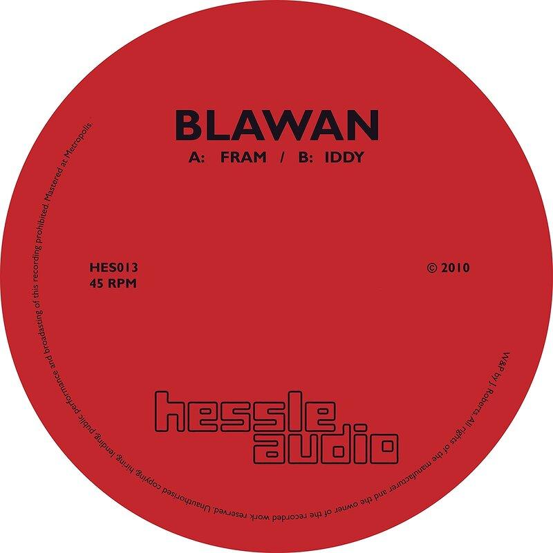 Cover art - Blawan: Fram