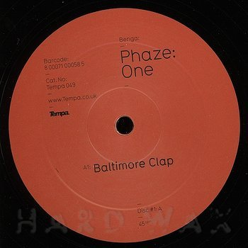 Cover art - Benga: Phaze One