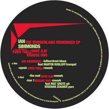 Cover art - Ian Simmonds: The Burgenland Reworked EP