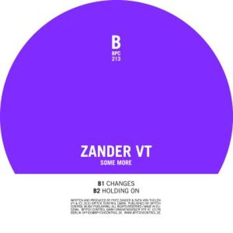 Cover art - Zander VT: Some More