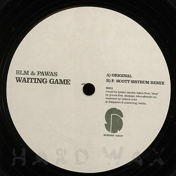 Cover art - Blm & Pawas: Waiting Game