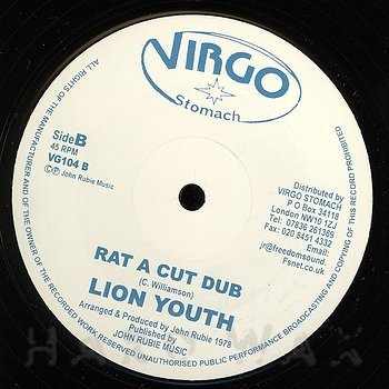 Cover art - Lion Youth: Rat A Cut Bottle