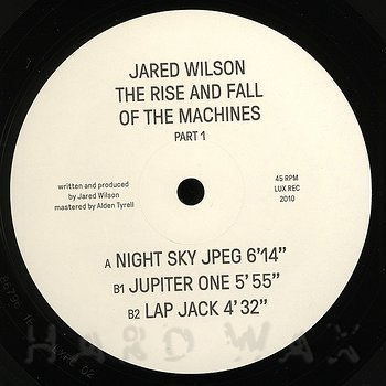 Cover art - Jared Wilson: The Rise And Fall Of Machines Part 1