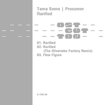 Cover art - Tama Sumo & Prosumer: Rarified