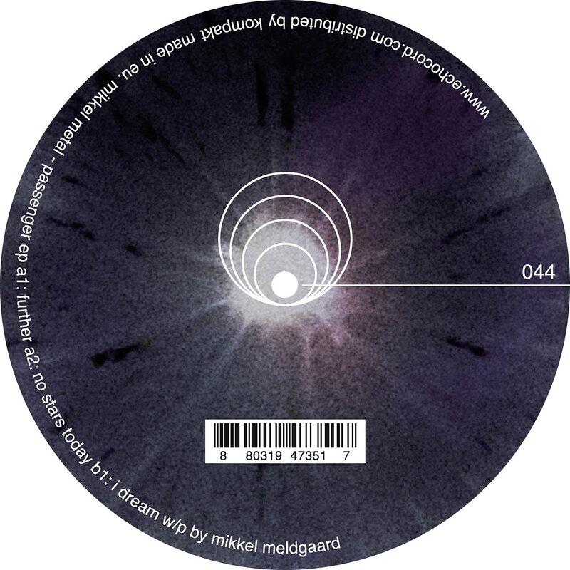 Cover art - Mikkel Metal: Passenger EP