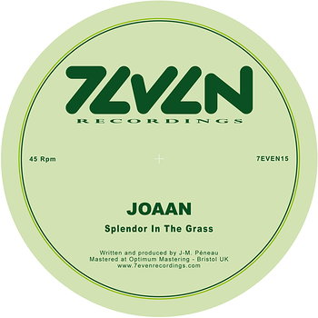 Cover art - Joaan: Splendor In The Grass