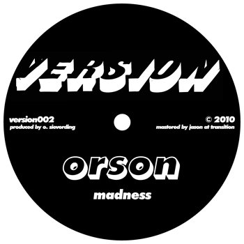 Cover art - Orson: Madness