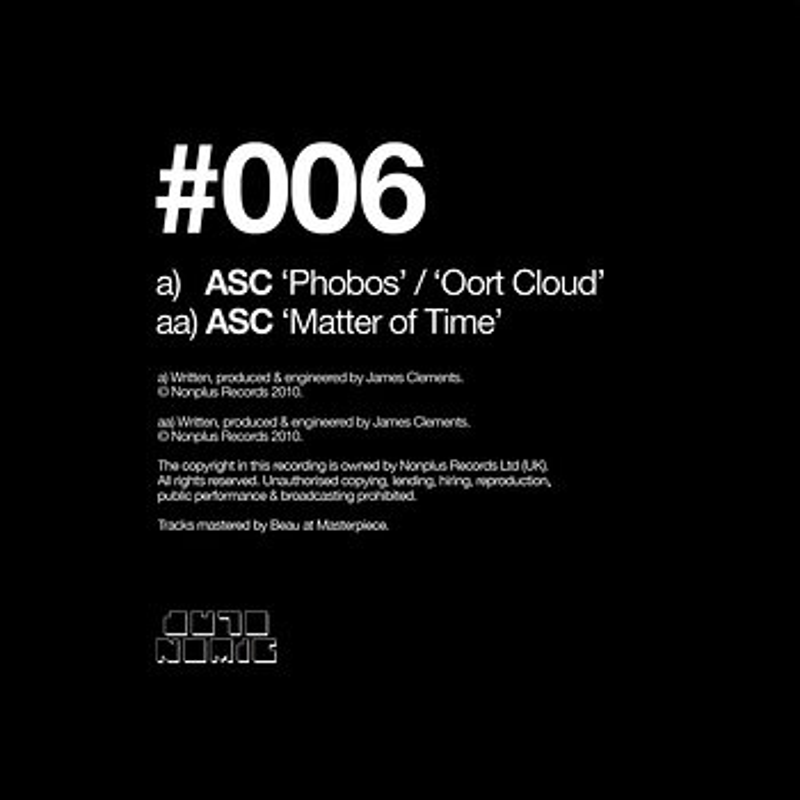 Cover art - ASC: Phobos