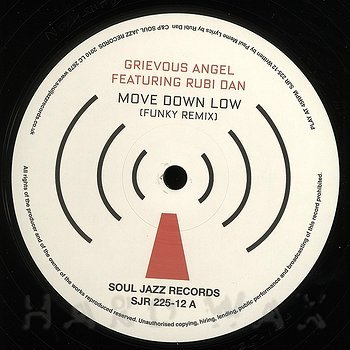 Cover art - Grievous Angel: Move Down Low