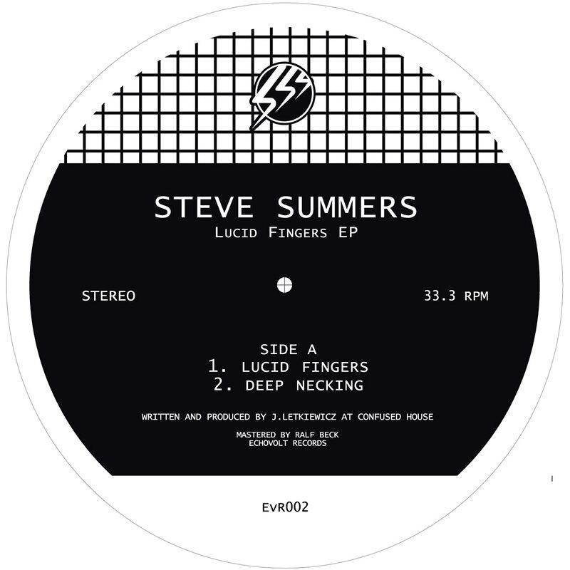 Cover art - Steve Summers: Lucid Fingers EP