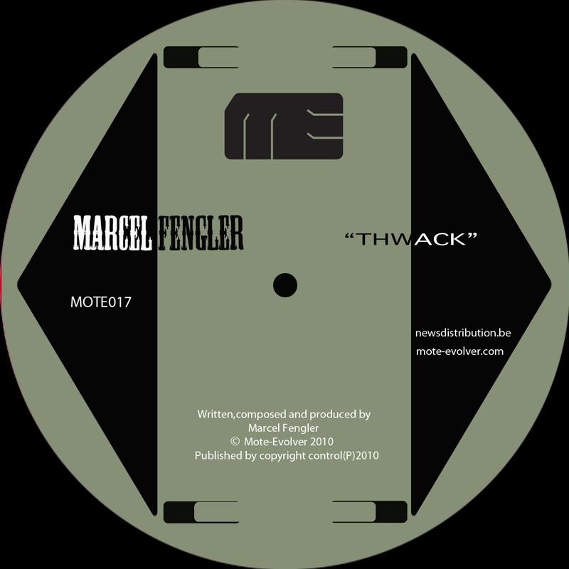 Cover art - Marcel Fengler: Thwack EP