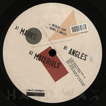 Cover art - Nicolas Jaar: Marks & Angels