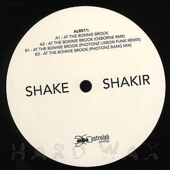 "Cover art - Anthony ""Shake"" Shakir: At The Bonnie Brook"