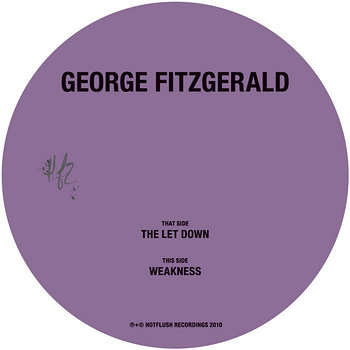Cover art - George Fitzgerald: The Let Down