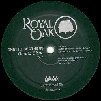 Cover art - Ghetto Brothers: Ghetto Disco