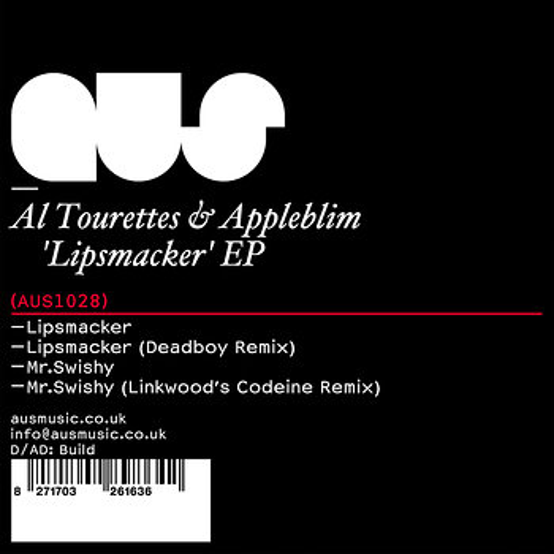 Cover art - Al Tourettes & Appleblim: Lipsmacker EP