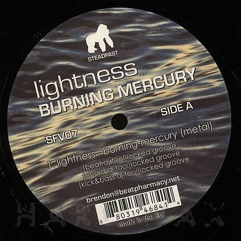 Cover art - Lightness: Burning Mercury