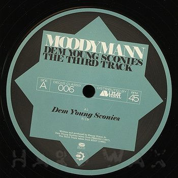 Cover art - Moodymann: Dem Young Sconies