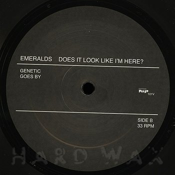 Cover art - Emeralds: Does It Look Like I'm Here?