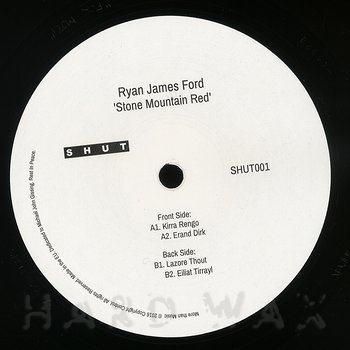 Cover art - Ryan James Ford: Stone Mountain Red