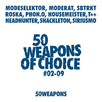Cover art - Various Artists: 50 Weapons Of Choice #2-9