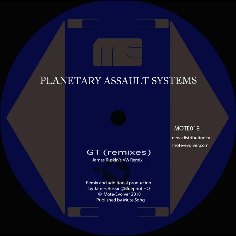 Cover art - Planetary Assault Systems: GT Remixes