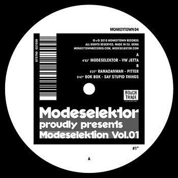 Cover art - Various Artists: Modeselektor Proudly Presents Modeselektion Vol. 01 - Part 1