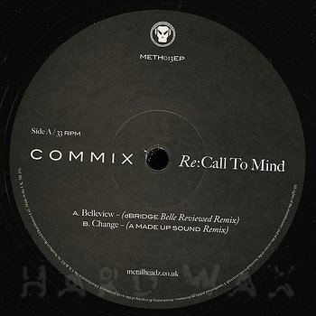 Cover art - Commix: Re:Call To Mind EP 1