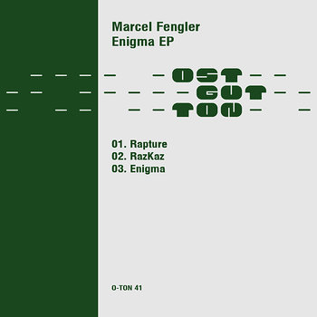 Cover art - Marcel Fengler: Rapture