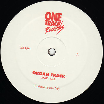 Cover art - John Daly: Organ Track
