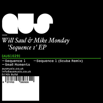 Cover art - Will Saul & Mike Monday: Sequence 1 EP