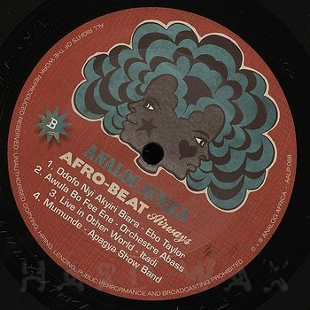 Cover art - Various Artists: Afro-Beat Airways