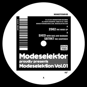 Cover art - Various Artists: Modeselektor Proudly Presents Modeselektion Vol. 01 - Part 2