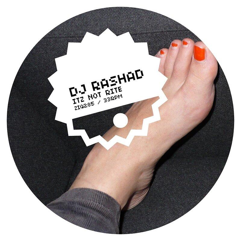Cover art - DJ Rashad: Itz Not Rite