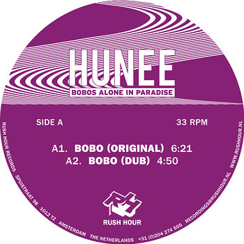 Cover art - Hunee: Bobos Alone In Paradise
