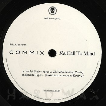 Cover art - Commix: Re:Call To Mind EP 2