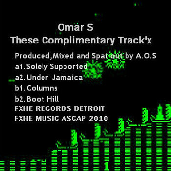 Cover art - Omar S: These Complimentary Track'x