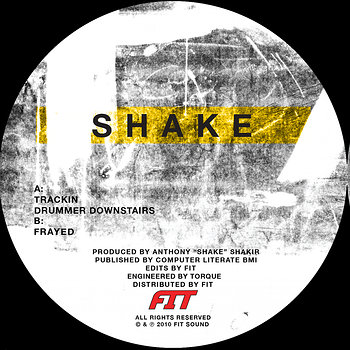 Cover art - Shake: The Drummer Downstairs