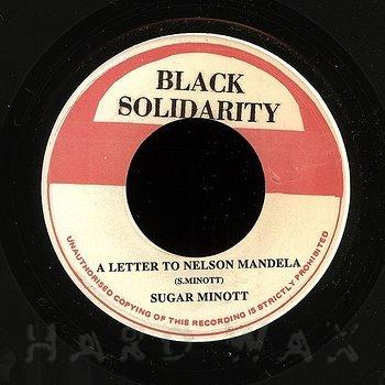 Cover art - Sugar Minott: A Letter To Nelson Mandela