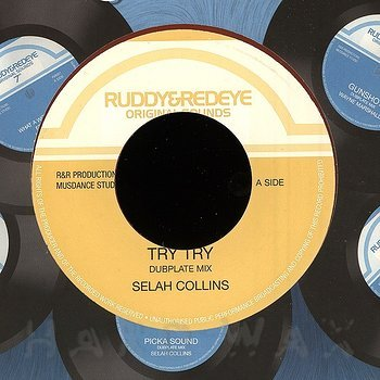 Cover art - Selah Collins: Try Try (Dubplate Mix)