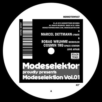 Cover art - Various Artists: Modeselektor Proudly Presents Modeselektion Vol. 01 - Part 3