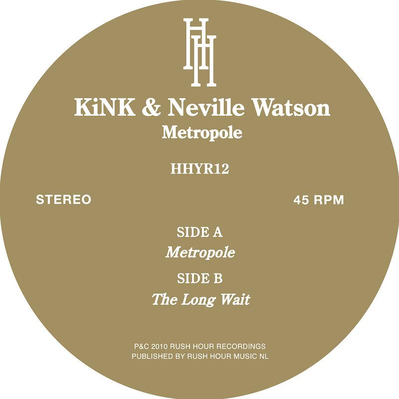 Cover art - Kink & Neville Watson: Metropole