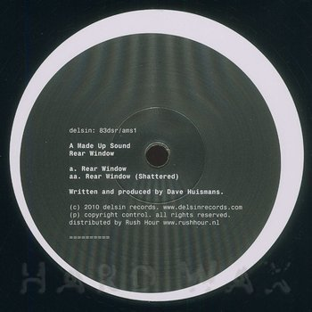 Cover art - A Made Up Sound: Rear Window
