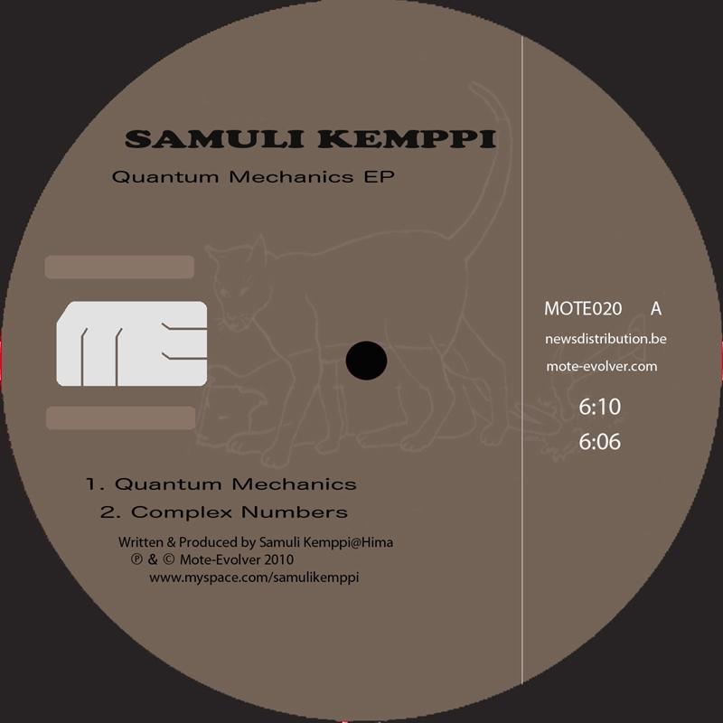 Cover art - Samuli Kemppi: Quantum Mechanics EP