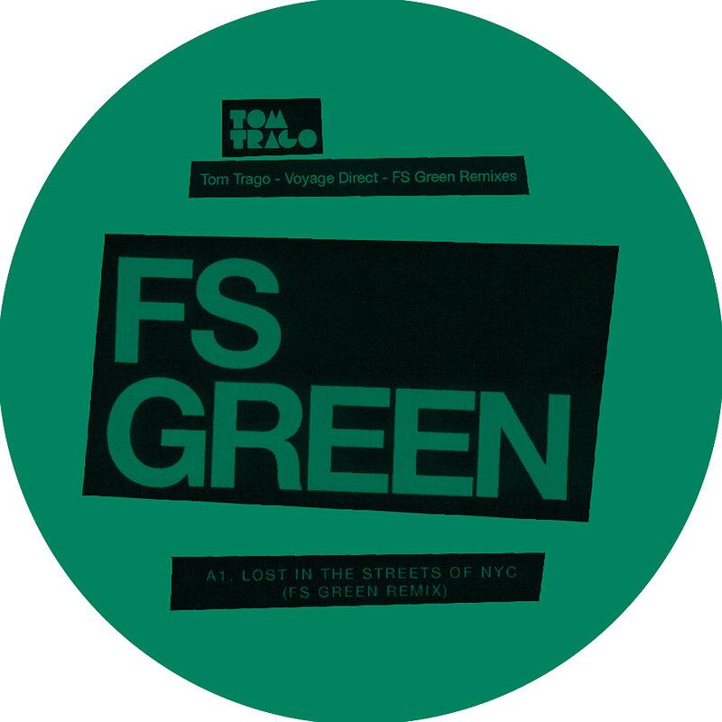 Cover art - Tom Trago: Voyage Direct - FS Green Remixes
