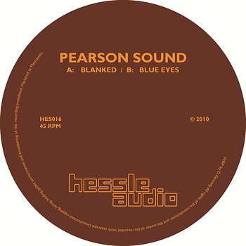Cover art - Pearson Sound: Blanked