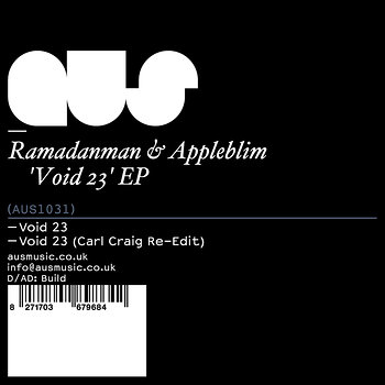 Cover art - Ramadanman & Appleblim: Void 23 EP